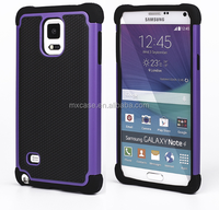 Triple defender case for Samsung galaxy note 4/Moblie phone accessories,Low MOQ, Guangzhou Supplier