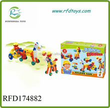 Interesting building blocks for 2015 children plastic building blocks
