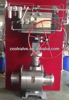 202B 2500# Metal Seated Ball Valve(High-Pressure&High-tem)