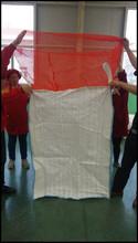 Flat Bottom Bottom Option (Discharge) and Top Fill Skirt Top Option (Filling) FIBC bulk bags