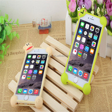 Factory price cell phone accessories cheap silicon shake proof bumper case universal case for all cell phone