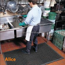 outdoor basketball court rubber mat/rubber garage floor mat/Anti-slip kitchen mats