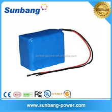 deep cycle kids rechargeable battery cars 24v 10Ah lithium ion battery with 18650 2000mah cells