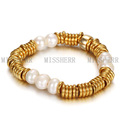 Diseño de joyas pulsera de oro para las niñas al por mayor de China NCB007CPGC
