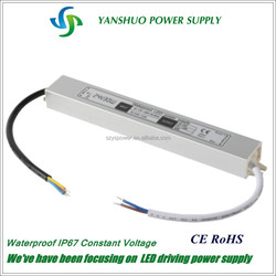triac dimmable led driver 12v dc input led driver 30w