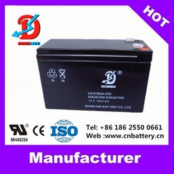 High Quality with CE battery 12v deep cycle battery, VRLA 12v7ah Chinese batteries
