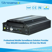 5 Channels HDD Mobile DVR Streamax X1-H0401 with GPS, 3G/4G/WIFI Optional