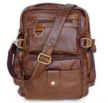 7042 Cowboy Vintage Leather Men Travel bag Backpack Bookbag