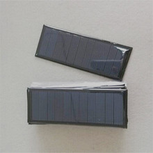 Customized 120*45mm 5.5V 0.8W small solar panel with high effeciency for home use