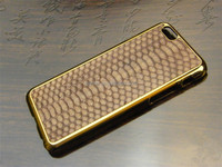 China Genuine Python Leather Luxury Stand Case for iPhone 6