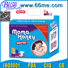 High absorption Ultra thin cotton breathable dry soft disposable baby diapers pamper in Kenya