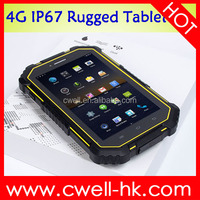 waterproof tablet pc ip67 4G LTE NFC UNIWA HV2 Rugged 7 Inch MTK8732 Quad Core 2GB 16GB Wifi GPS 13MP Unlocked