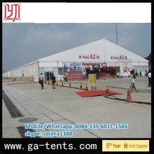Outdoor large PVC tarpaulin meeting tents for Olympic official conference