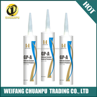 acitic property rtv white and black color quality silicone sealant with best quality