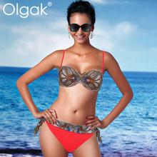 olgak2015 mode drucktypen sexy nude bikini swimwear hot bohren ornamente