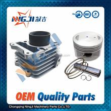 57mm diameter Motorcycle Cylinder kit for Jincheng Suzuki GN125 High Quality Motorcycle Parts Engine Piston set Piston Ring