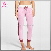 OEM Factory Price Sporty Side Stripes Fitness Pants Women Custom Joggers