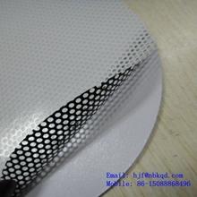 UV Protection White One Way Vision Self-adhesive Vinyl