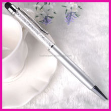 2015 Free sample good quality promotional crystal gift pen crystal stylus pen stationary ball pen