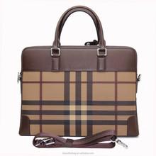 Luxury Men Italian Leather Bags vintage leather handbag