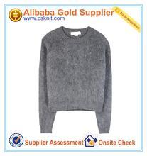 การออกแบบใหม่เช่นถักเสื้อกันหนาวสำหรับผู้หญิงบุรุษเสื้อกันหนาวคริลิคที่มีราคาที่ดี
