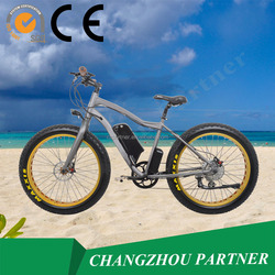 New fashion and high quality superpower Chopper 500w hub motor fat tire electric bike of 500w 48v (PNT-EB-14)