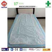 China supplier disposable bed cover PP massage cover made by Hubei Haixin