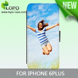 New printable sublimation blank flip cover for iphone 6 plus