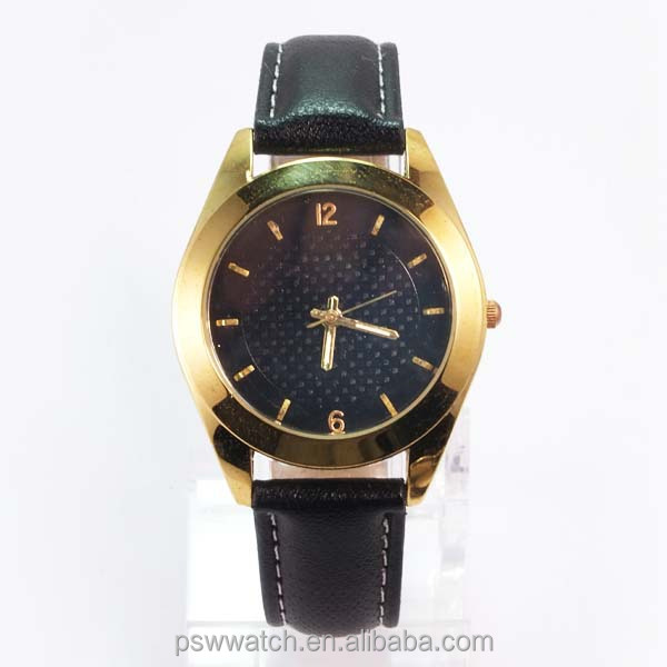 Hot selling watch factory miyota movt IPG leather strap watch shenzhen OEM/ODM promotional watch