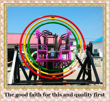 factory direct rides Theme Park Kids Rides Human Gyroscope For Sale