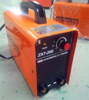 single phase high frequency arc 200 amp welder DC inverter welding machine zx7-200