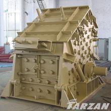 New technology mobile impact crusher station for mining ores