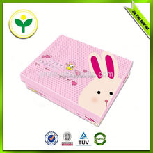 2014 popular newest design decorated paper candy box