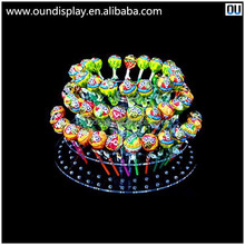 clear acrylic lollipop tower display stand cake pop display stand