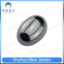 rough gem stone oval shape cabochon cut olive green cubic ziconia gems