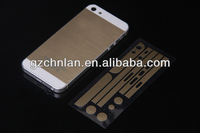 Gold PET protective film full body skin sticker for iphone 5 sticker