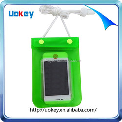 New and hot product mobile phone plastic waterproof cellphone bag