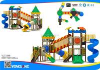kids rubber-coating outdoor playground equipment homemade playground slide