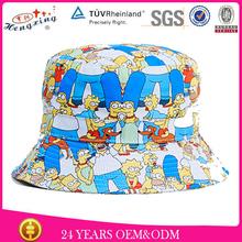 Custom Wholesale Blank Bucket Hat Free Pattern Children Bucket Hat