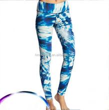 Custom Ladies Sports Active Printed Yoga Pants