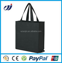 One color high quality non woven tote advertise bag print