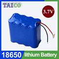 batería del li-ion 3.7v 5000mAh de batería de litio para EV