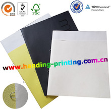 2015 loop stapled / saddle stitch /butterly stitched catalogue printing factory