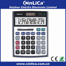 electronic calculator download lcd display with solar cell for office use DS-3LV