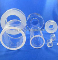 Thick wall Silica Quartz Glass Tube