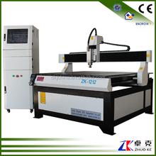 China Wood CNC Router 1212 Ball Screw Transmission Yaskawa Servo Motor Mach3 Control ZK-1212