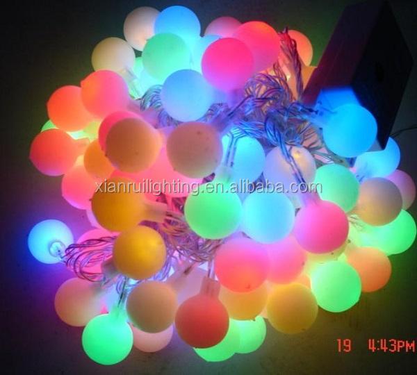 Ext rieur int rieure de no l solaire changeant de couleur for Guirlande lumineuse exterieur professionnel