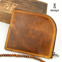 handmade leather mini coin purse for ladies
