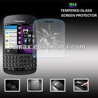Clear tempered glass flexible screen protector for Blackberry q10 oem/odm (Glass Shield)