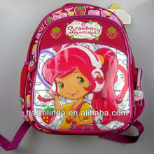 New design Children Backpack Girl's Cartoon School Bag Picture
